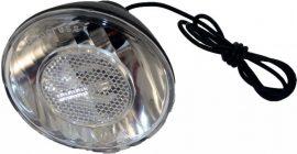 Fekete műanyag első lámpa