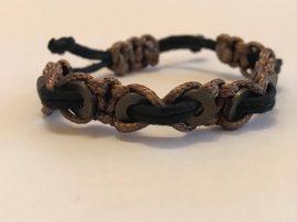 Evo Karkötő-láncszemes barna-fekete