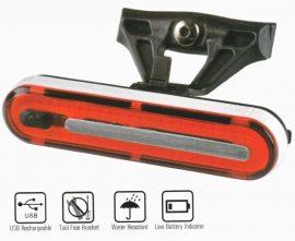 Velotech USB 50Led hátsó lámpa
